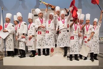 Franca vence o concurso mundial de Confeitaria  Sirha 2017