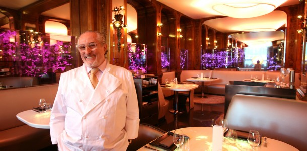 Chef Alain Senderens, Paris